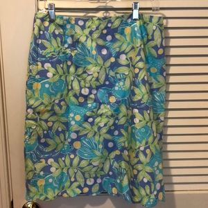 Lilly Pulitzer Skirt- Size 12